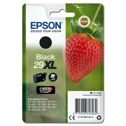 Epson oryginalny ink C13T29914012, T29XL, black, 11,3ml, Epson Expression Home XP-235,XP-332,XP-335,XP-432,XP-435