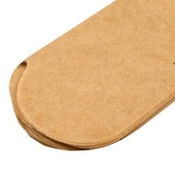 Papierowy pompon 15 cm - naturalny - NAT