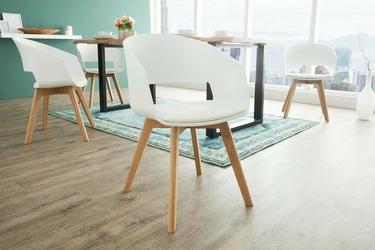 Interior Space :: Krzesło Nordic biały dąb
