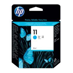 HP 11 oryginalny wkład atramentowy błękitny