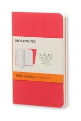 Zeszyty Moleskine Volant 2 szt. XS w linie czerwone