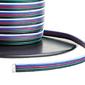 Przewód zasilający pięciożyłowy RGBW