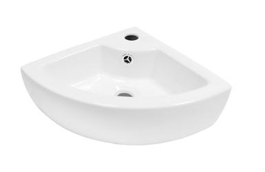 Umywalka Emily narożna biały