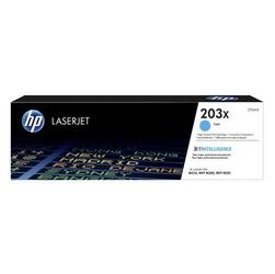 HP Oryginalny toner CF541X, 2500s, HP 203X, high capacity, HP Color LaserJet Pro M254, M280, M281 NIEBIESKI