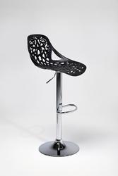 KARE Design :: Hoker  Krzesło barowe Ornament Black - czarny