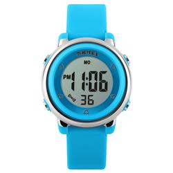 Zegarek dziecięcy DATOWNIK LED SKMEI 1100 - BLUE - BLUE