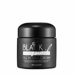 MIZON Black Snail All In One Cream W Krem do twarzy z śluzem z czarnego ślimaka 75ml