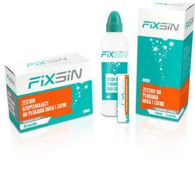 FIXSIN Zestaw Uzupełniający do płukania nosa i zatok x 30 saszetek