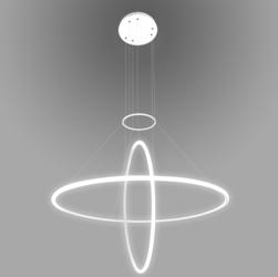 Altavola Design :: Lampa Ledowe Okręgi No.2 biała out 4k - biały