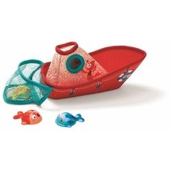ŁÓDKA Z RYBKAMI zabawka do kąpieli