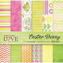Papier do scrapbookingu 30x30cm Easter Bunny - zestaw