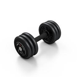 Hantla skr�cana na sta�e 15 kg - Marbo Sport - 15 kg