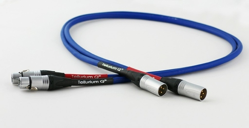Tellurium Q XLR Blue interkonekt Długość: 1,0 m