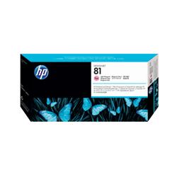 HP 81 barwnikowa głowica drukująca: jasny purpurowy i wkład czyszczący