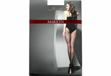 Art deco 20 den LUX LINE MARILYN Exclusive rajstopy