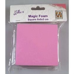 Magiczna pianka Nellies - kwadrat 8x8x3 cm - KWAD