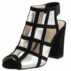 Złote Sandały Vogue Carla 274A damskie buty