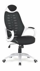 Fotel gabinetowy Striker 2 czarno-biały