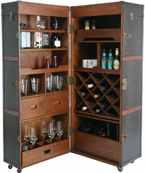 KARE Design :: Wardrobe Trunk Bar Colonial
