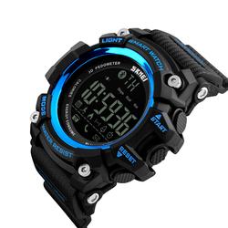 SPORTOWY zegarek SKMEI 1227 BLUETOOTH blue - BLUE