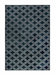 Dywan Laren 160x230 granatowy - granatowy