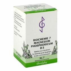 Biochemie 7 Magnesium phosphoricum D 3 Tabl.