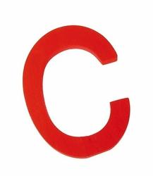 duża drewniana litera C Grimms