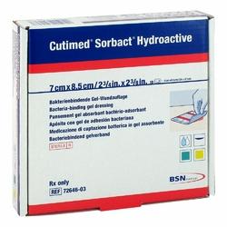 Cutimed Sorbact Hydroactive Kompressen 7x8,5cm