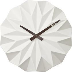 Zegar ścienny Origami Karlsson biały KA5531WH