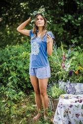 Key LNS 465 1 A19 piżama damska