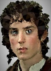 POLYamory - Frodo, Władca Pierścieni - plakat Wymiar do wyboru: 61x91,5 cm