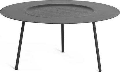 Stolik kawowy Woodplate duży szary