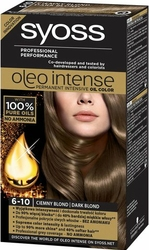 Syoss Oleo, Farba do włosów, 6-10 Ciemny blond