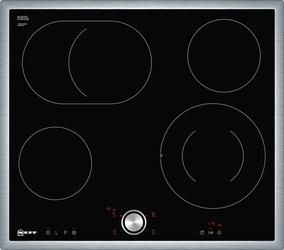 Płyta elektryczna NEFF T16BT76N0  Ceramiczna  4 pola  17 stopni mocy - Klasa 2  czarny