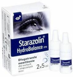 STARAZOLIN HydroBalance PPH krople 10ml 2x5ml