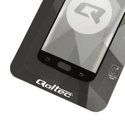 Qoltec Hartowane szkło ochronne do Huawei Mate 20 Lite | 6D | czarne