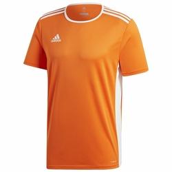 adidas Koszulka Męska Entrada 18 CD8366 - Pomarańczowy