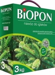 Biopon, nawóz granulowany do iglaków, 3kg