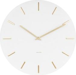 Zegar ścienny Charm biały