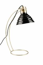 Lampa stołowa CURLY czarna