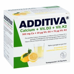 Additiva Calcium+d3+k2 Granulat