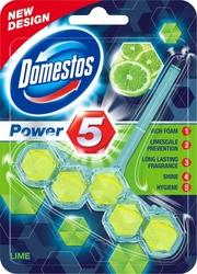 Domestos Power 5, Lime, zawieszka do WC, 55g