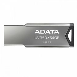 Adata Pendrive UV350 64GB USB3.1 Metallic