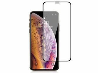 Szkło Mocolo 3D na cały ekran do Apple iPhone XXS czarne