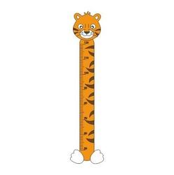 naklejka miarka wzrostu tygrysek 13