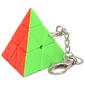 Pyraminx Magic Cube Keychain Stickerless