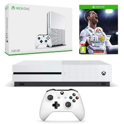 KONSOLA XBOX ONE S 500 GB + FIFA 18