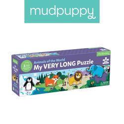 Mudpuppy Metrowe puzzle Zwierzęta Świata 30 elementów 3+