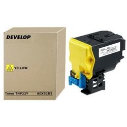 Toner Oryginalny Develop TNP-22Y A0X52D2 Żółty - DARMOWA DOSTAWA w 24h