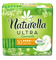 Naturella Ultra Normal, podpaski higieniczne ze skrzydełkami, 10 sztuk